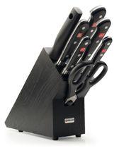 Stojan s nožmi 7-dielny čierny Wüsthof Classic - Limitovaná edícia