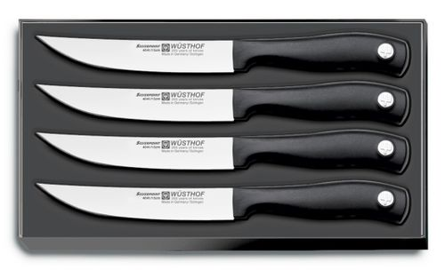 Sada 4 nožov na steaky Wüsthof Silverpoint