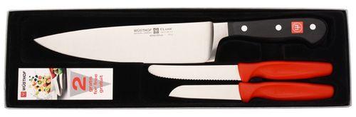 Sada kuchárskeho noža a 2 nožov na zeleninu Wüsthof