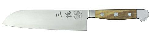 Santoku nôž 18 cm Güde Alpha Olive