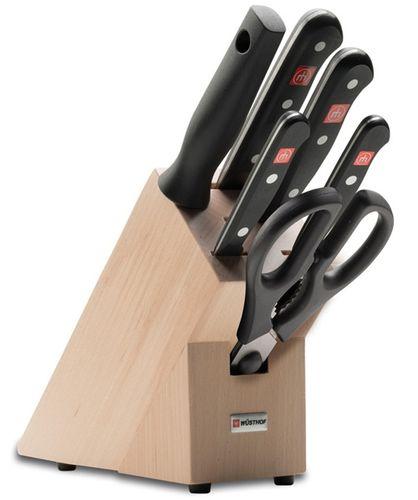Stojan s nožmi 5-dielny Wüsthof Gourmet - Limitovaná edícia