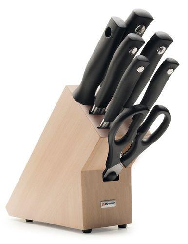 Sada nožov v stojane 7-dielna Wüsthof Grand Prix II - Akciová ponuka