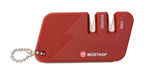 Vrecková brúska na nože červená Wüsthof