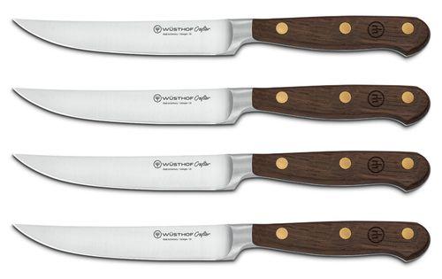 Sada 4 nožov na steaky Wüsthof Crafter