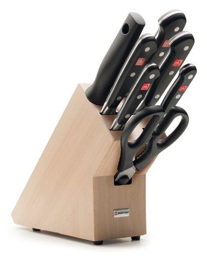 Sada nožov v stojane 7-dielna Wüsthof Classic - Akciová ponuka